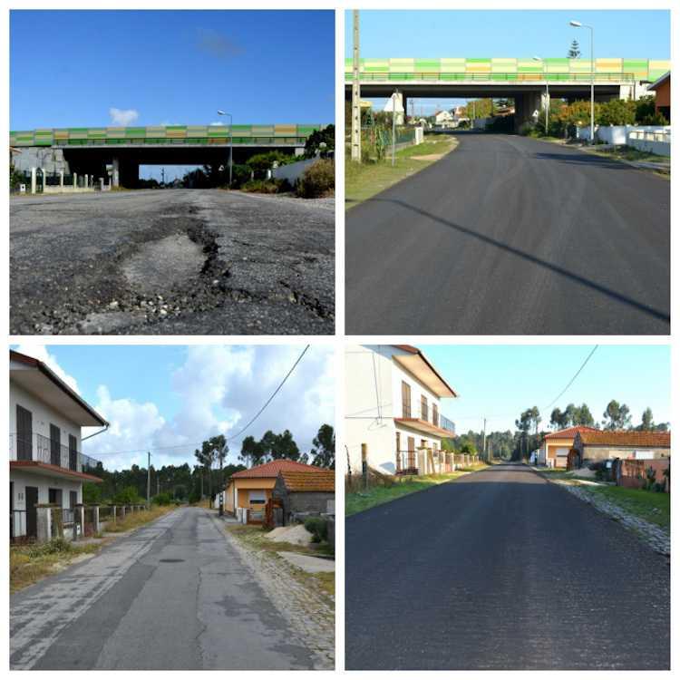 Jornal Campeão: Montemor-o-Velho: ruas da Tocha e estrada Bunhosa-Feitoso alcatroadas