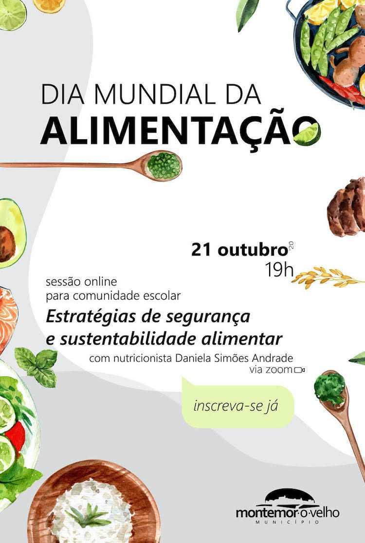 Jornal Campeão: Montemor-o-Velho realiza sessão online sobre segurança e sustentabilidade alimentar