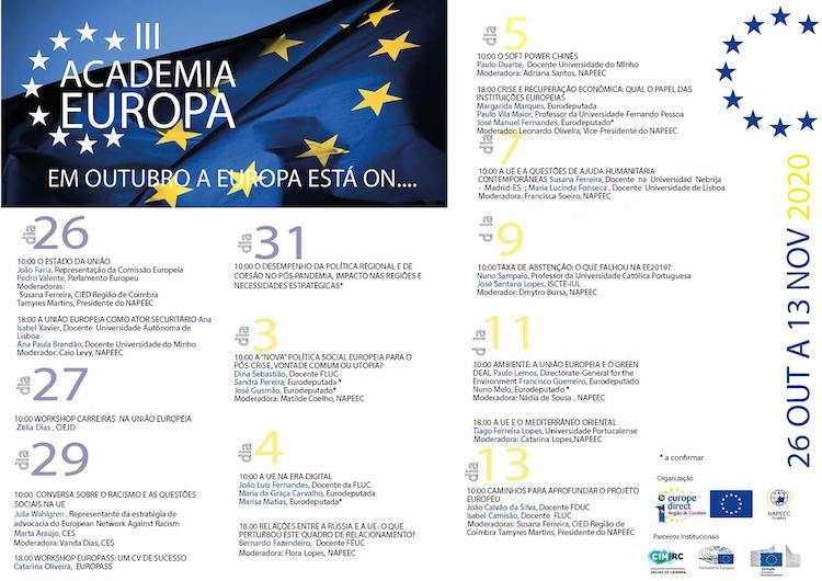 Jornal Campeão: Coimbra: Academia Europa prossegue com workshops e palestras sobre a UE