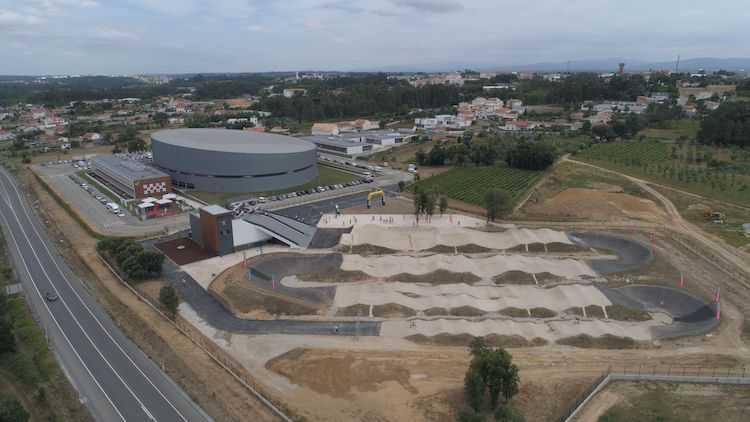 Jornal Campeão: Anadia: Pista Olímpica de BMX em Sangalhos recebe prova do Campeonato Nacional