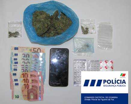 Jornal Campeão: Figueira da Foz: PSP deteve homem por tráfico de droga
