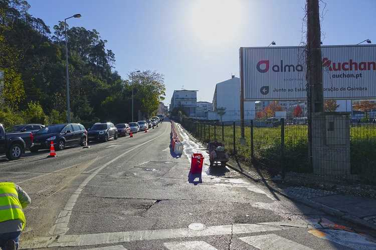 Jornal Campeão: Coimbra: Rua Figueira da Foz com trânsito cortado à noite para execução de passeios