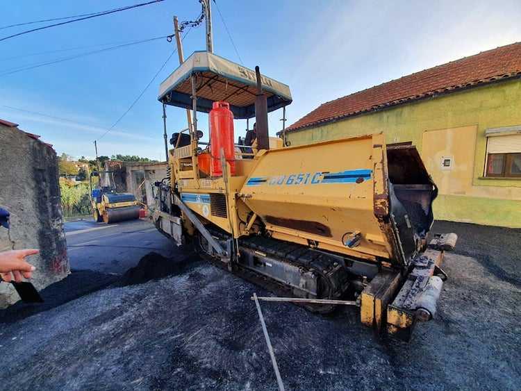 Jornal Campeão: Plano de pavimentações da Câmara de Cantanhede prossegue em Ançã