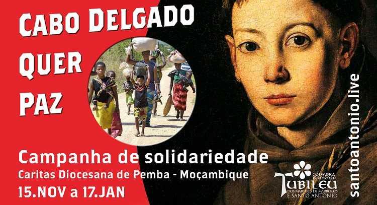 """Jornal Campeão: Lançada em Coimbra a campanha solidária """"Cabo Delgado quer paz"""""""