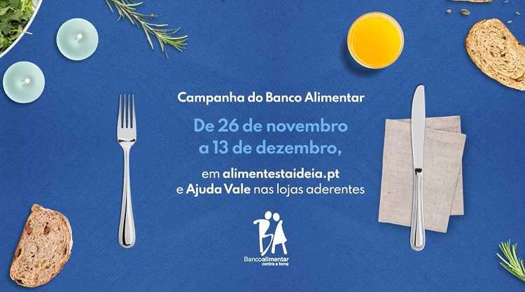 Jornal Campeão: Banco Alimentar promove campanha online até 13 de Dezembro