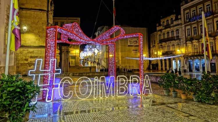 Jornal Campeão: O Natal chega hoje a Coimbra com a iluminação das ruas