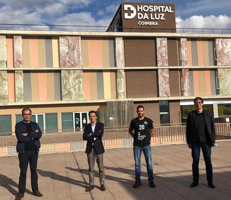 Jornal Campeão: Hospital da Luz em Coimbra apoia Andebol da Académica