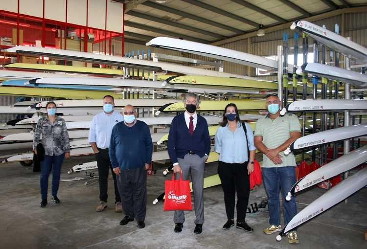Jornal Campeão: Pedro Machado visitou Centro Náutico do Ginásio Figueirense