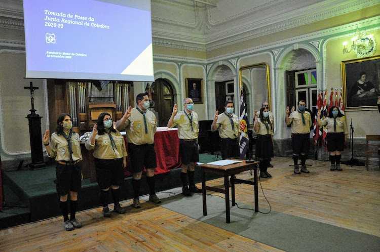 Jornal Campeão: Escutismo de Coimbra tem nova Junta Regional