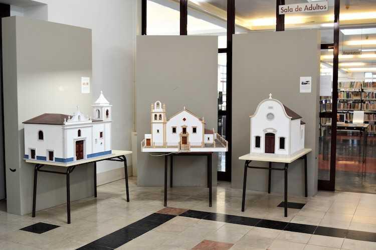 Jornal Campeão: Biblioteca de Cantanhede prolonga mostra de maquetes em madeira