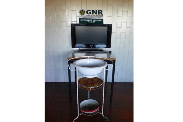Jornal Campeão: GNR recupera material furtado em Oliveira do Hospital