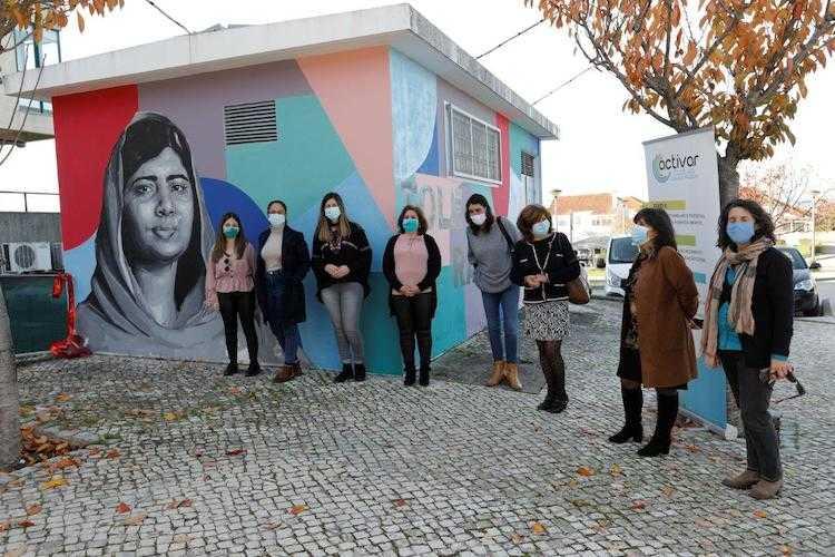 Jornal Campeão: Lousã assinala Dia Internacional da Tolerância com mural