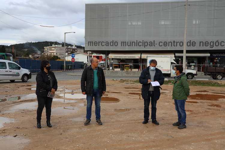 Jornal Campeão: Obras no Parque de Estacionamento do Mercado de Miranda do Corvo foram consignadas