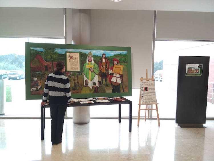 Jornal Campeão: Biblioteca Nacional de Anadia mostra painel evocativo do Foral de Paredes do Bairro