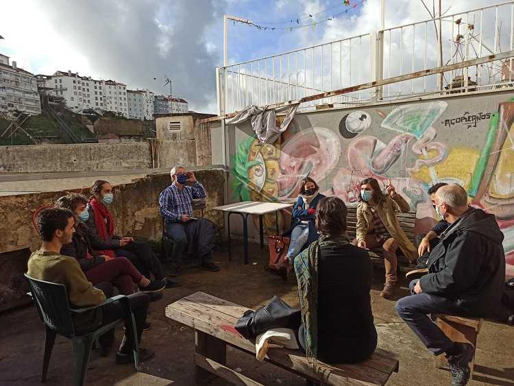 Jornal Campeão: Bloco de Esquerda visitou o Solar República dos Açoreanos em Coimbra
