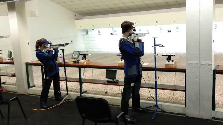 Jornal Campeão: Equipa feminina de tiro do Ginásio Figueirense conquista título de campeã nacional