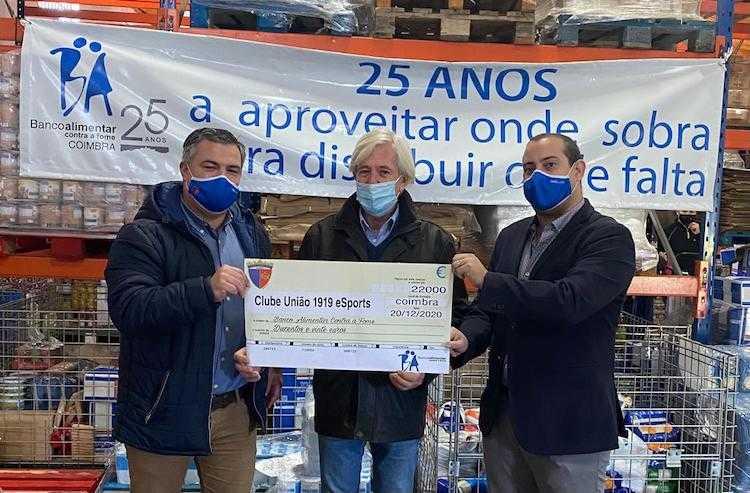 Jornal Campeão: Clube União 1919 entregou 220 euros ao Banco Alimentar