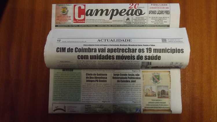 Jornal Campeão: CIM vai apetrechar os 19 municípios com unidades móveis de saúde