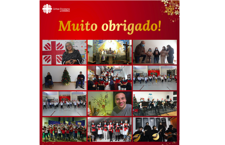 Jornal Campeão: Cáritas de Coimbra agradece a todos os que tornaram possível um Natal online
