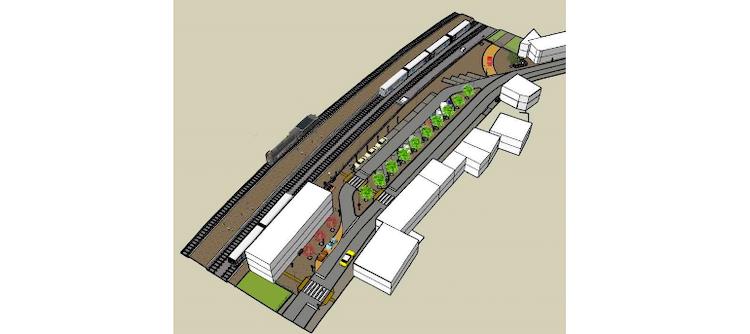 Jornal Campeão: Câmara de Pombal requalifica largo da Estação de Albergaria dos Doze