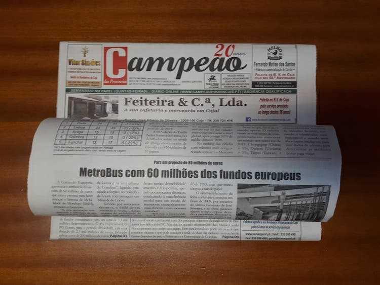 Jornal Campeão: Metrobus com 60 milhões dos fundos europeus
