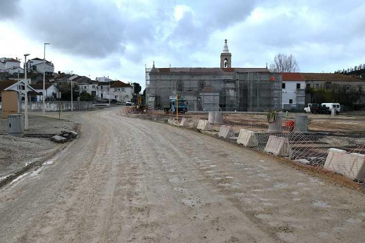 Jornal Campeão: Requalificação junto ao Convento de Nossa Senhora dos Anjos vai reforçar a segurança