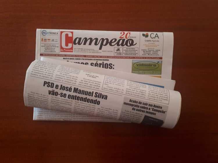 Jornal Campeão: PSD e José Manuel Silva vão-se entendendo