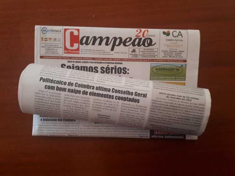 Jornal Campeão: Politécnico de Coimbra com bom naipe de elementos cooptados pelo Conselho Geral