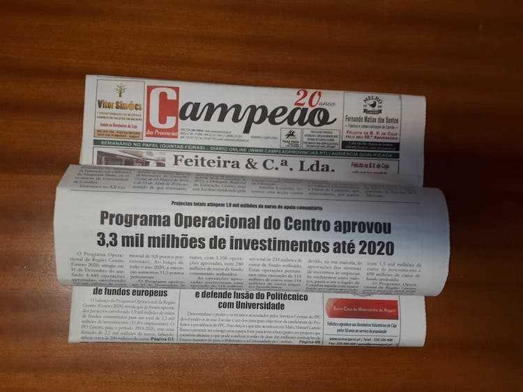 Jornal Campeão: Centro 2020 já aplicou 1,9 mil milhões de euros de fundos europeus