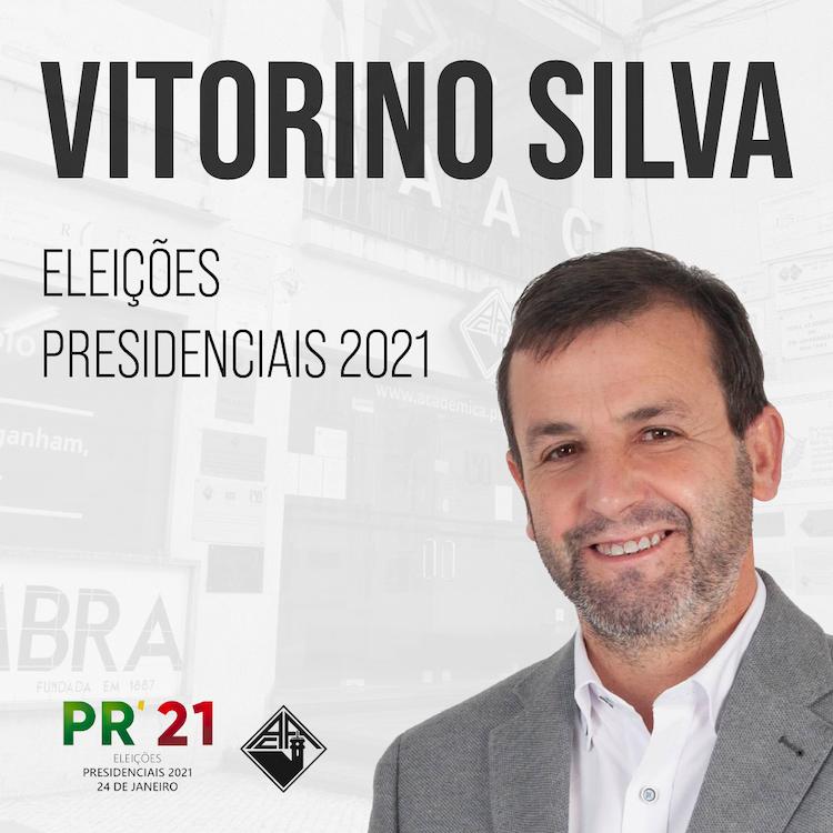 Jornal Campeão: Associação Académica de Coimbrarecebe candidato Presidencial Vitorino Silva