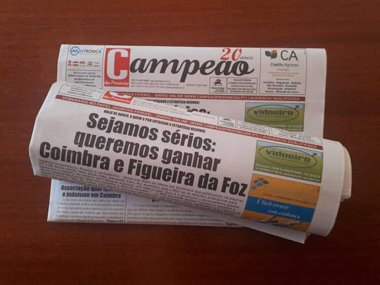 """Jornal Campeão: Maló de Abreu em Entrevista ao """"Campeão"""""""