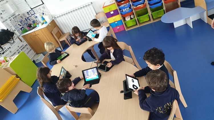 Jornal Campeão: St. Paul's School prepara crianças para ensino à distância