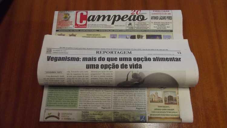 Jornal Campeão: Veganismo: mais do que uma opção alimentar uma opção de vida