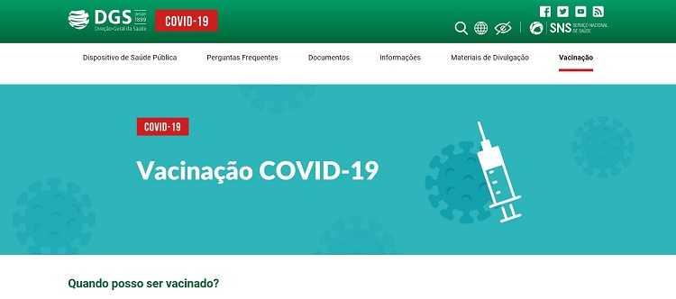 Jornal Campeão: Portugueses têm disponível portal dedicado à vacinação