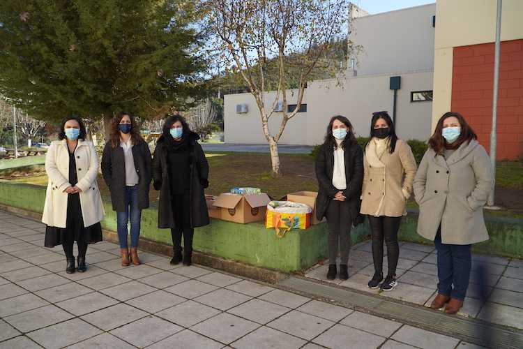 """Jornal Campeão: Pampilhosa da Serra: """"Alimentos Solidários"""" mobilizaram comunidade escolar"""