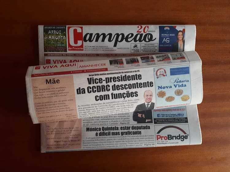 Jornal Campeão: Vice-presidente da CCDRC, Jorge Brito, descontente com funções