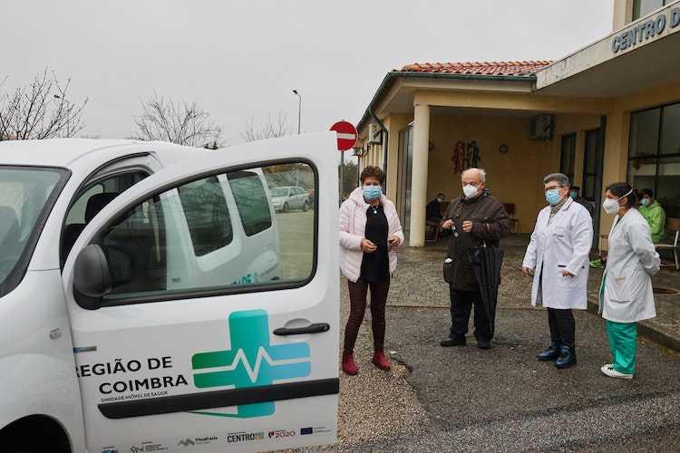 Jornal Campeão: Mealhada entrega Unidade Móvel aos centros de saúde do concelho e da Pampilhosa