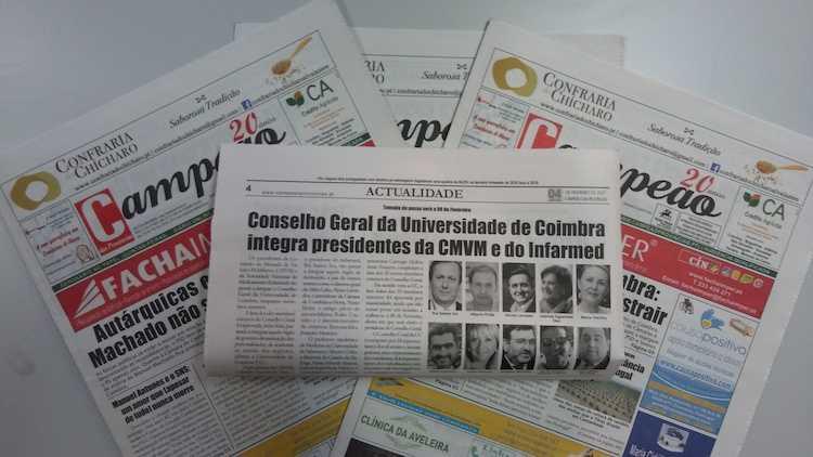 Jornal Campeão: Conselho Geral da Universidade de Coimbra integra presidentes da CMVM e do Infarmed