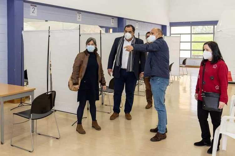 Jornal Campeão: Centro de vacinação de Condeixa começou ontem a funcionar