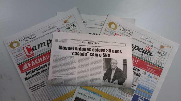 Jornal Campeão: Entrevista com o Professor e cirurgião Manuel Antunes