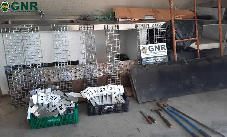 Jornal Campeão: GNR de Montemor deteve dois homens por furto de materiais de construção