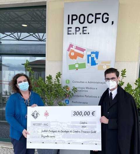 Jornal Campeão: Núcleo de Estudantes de Desporto doou receitas ao IPO de Coimbra