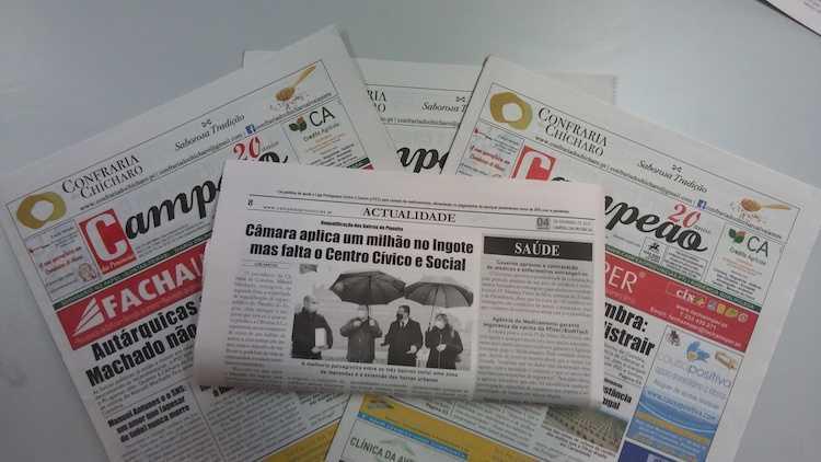 Jornal Campeão: Câmara aplica um milhão no Ingote mas falta o Centro Cívico e Social
