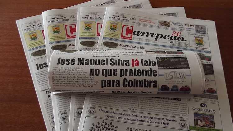 Jornal Campeão: José Manuel Silva já fala como candidato da plataforma