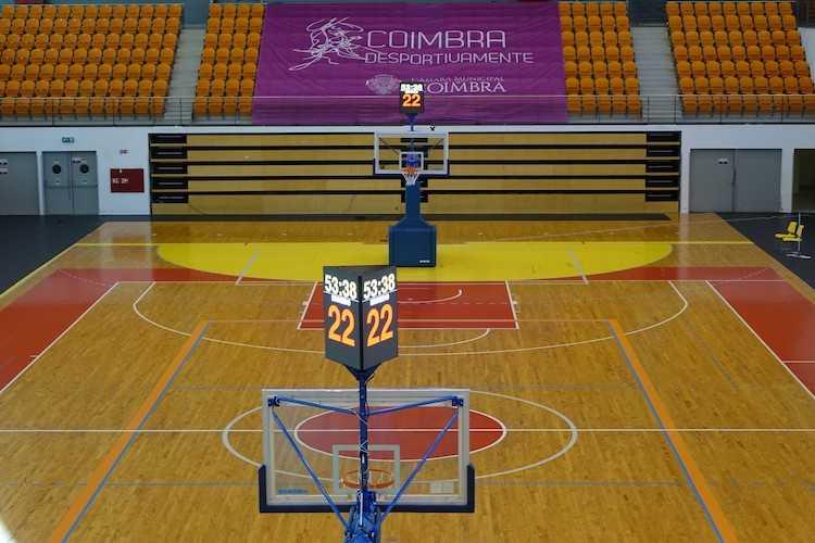 Jornal Campeão: CM de Coimbra dota Pavilhão Mário Mexia de condições de excelência para basquetebol