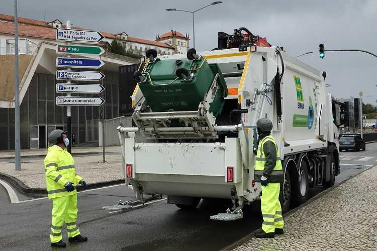 Jornal Campeão: Coimbra com viaturas mais amigas do ambiente para a recolha de resíduos