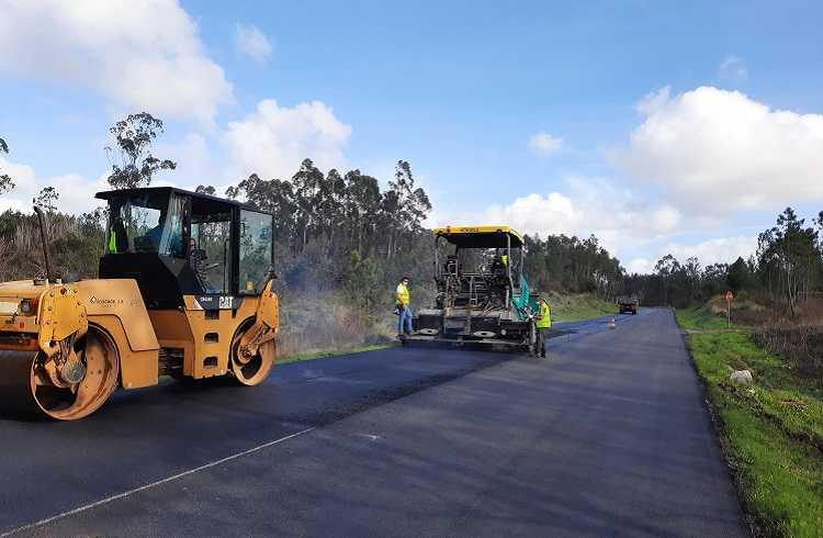 Jornal Campeão: EN334 já tem novo pavimento em Covões e Camarneira