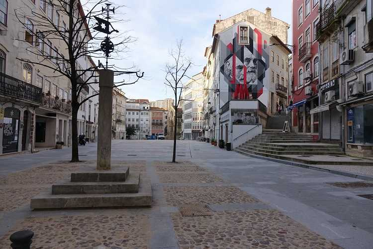 Jornal Campeão: Obras da praça do Comércio, em Coimbra, entram na recta final