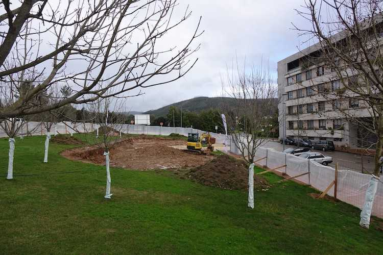 Jornal Campeão: Parque infantil da Quinta da Portela já começou a ser construído