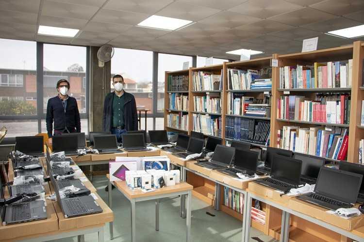 Jornal Campeão: Câmara de Poiares disponibilizou 30 computadores a alunos carenciados